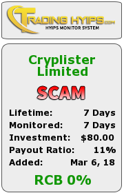 trading-hyips.com - hyip cryplister limited